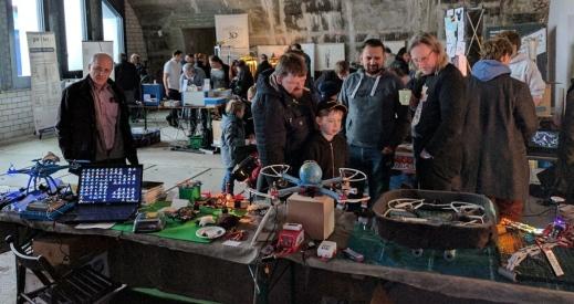 Ich auf Maker Faire Frankfurt 2017 03 klein